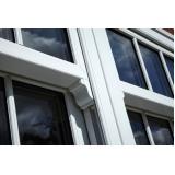 janelas de pvc com vidro Americana