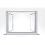 esquadria de pvc e vidro Alumínio