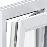 janela maximar de vidro temperado Pedreira