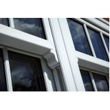 janelas de pvc com vidro Vargem