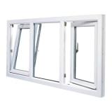 quanto custa janela pvc basculante Jandira
